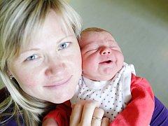 Adam Šlechta se narodil 6. září v 8:31 hodin. Měřil 52 centimetrů a vážil 4030 gramů. Maminka Veronika a tatínek Martin mají doma v Pardubicích ještě Jakuba (tři a čtvrt roku).