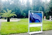 Výstava Zvětšeno v areálu Lázní Bohdaneč