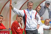 JIŘÍ KREJČÍ, trenér FK Pardubice.