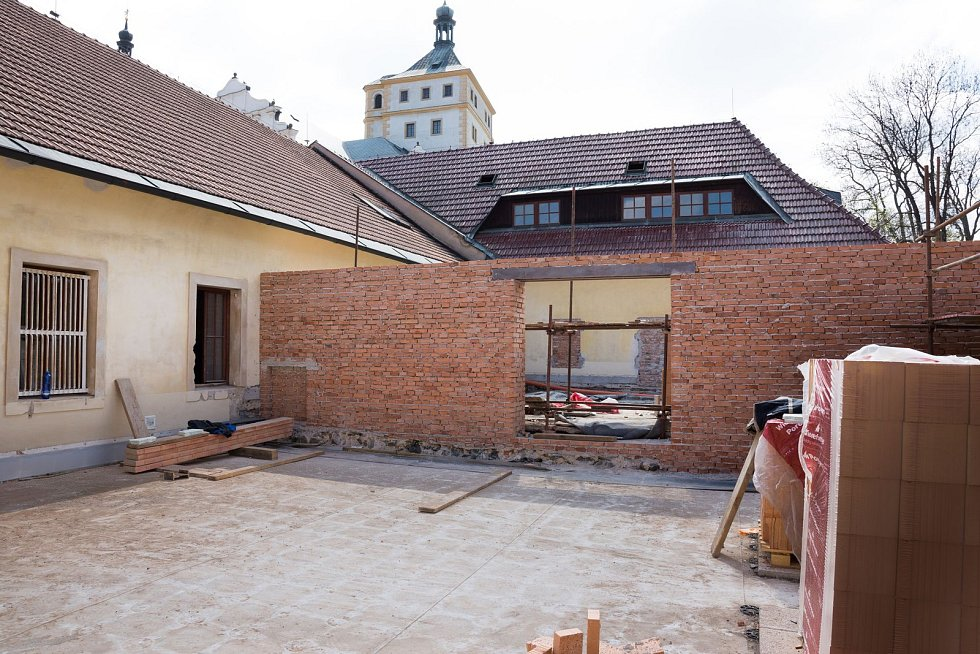 Zámecký palác bude sloužit především prezentaci samotného paláce a významného rodu Pernštejnů.