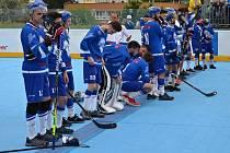 Pardubičtí hokejbalisté se stali vicemistry České republiky