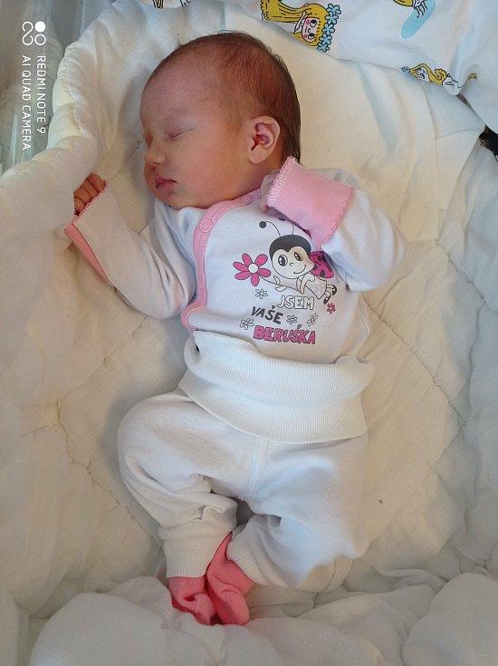 Karolínka Širůčková se narodila 26.12. 2020 v 0:29 hodin. Doma bude v Lanšperku (Ústí nad Orlicí).