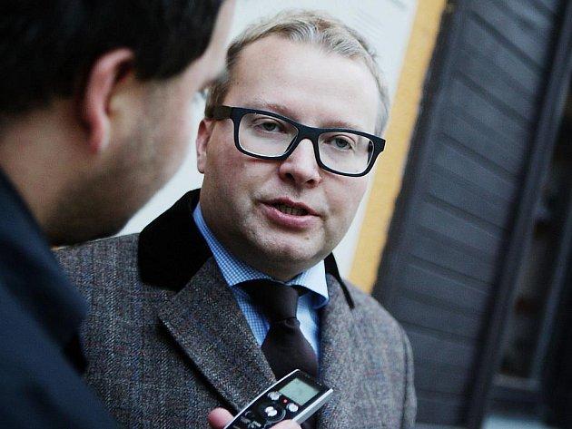 Ministr životního prostředí Tomáš Chalupa