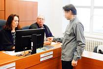 Obžalovaný u soudu v Pardubicích, 10.3.2020