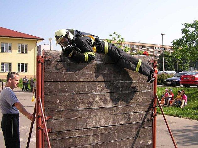 Nejtěžší hasičská soutěž - soutěž v TFA.
