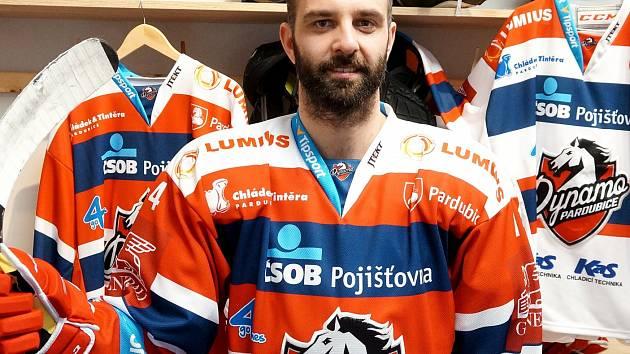 Útočník Tomáš Svoboda.