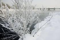 Arktická zima sevřela Pardubice
