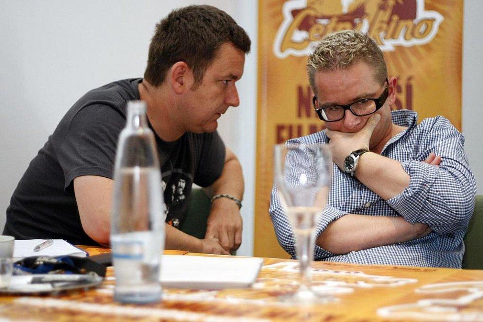 Letní kino pro sezónu 2010 představila tisková konference
