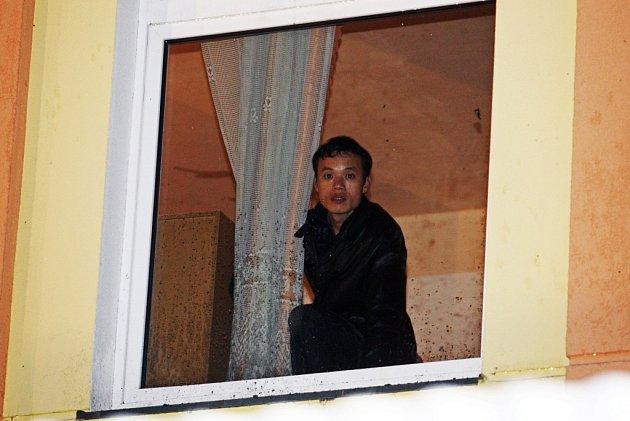 V ubytovně žijí převážně cizinci