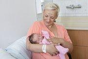 VANESA BÍLKOVÁ se narodila 13. června v 10 hodin a 20 minut. Měřila 48 centimetrů a vážila 3010 gramů. Maminku Olhu u porodu podpořil tatínek Lukáš a bydlí v Uhersku.