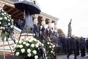 Pohřeb Libora Josky
