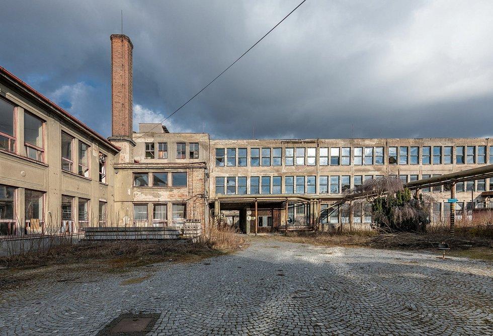 Současný stav bývalé továrny. Zdroj: Linkcity
