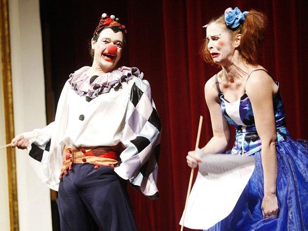 Zahájení Grand Festivalu smíchu 2014 obstarali klauni