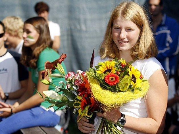 Udrží trůn? V loňském i předloňském roce si naši čtenáři vybrali za hvězdu pardubickou plavkyni Lenku Štěrbovou.