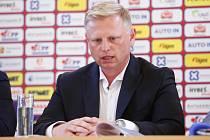 Předsezonní tisková konference fotbalového týmu FK Pardubice