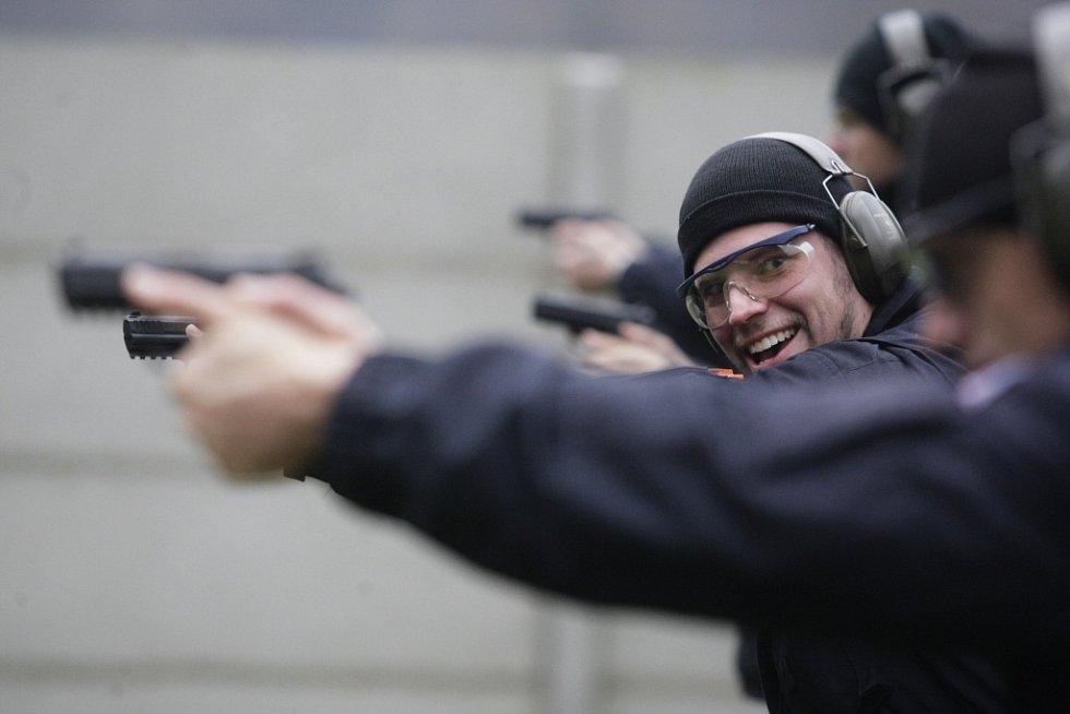 Střelecký výcvik.