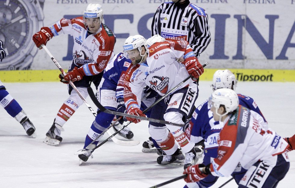 Dynamo Pardubice – Kometa Brno 1:3.