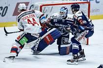 Hokejová extraliga - 32. kolo: Pardubice - Vítkovice 2:4