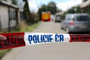 Policejní páska - Policejní páska, místo činu - ilustrační foto.