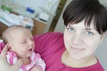 Agáta Schejbalová se narodila 19. dubna v 18:23 hodin. Měřila 51 centimetrů a vážila 3920 gramů. Maminku Pavlínu u porodu podpořil tatínek Petr a rodina je z Pardubic.