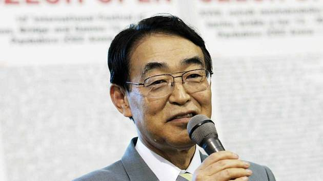 Japonský velvyslanec Hideaki Kumazawa