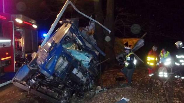 Náraz do stromu řidič u Býště nepřežil.