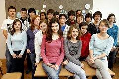 Vysvědčení radním vystavili žáci třídy 9 C