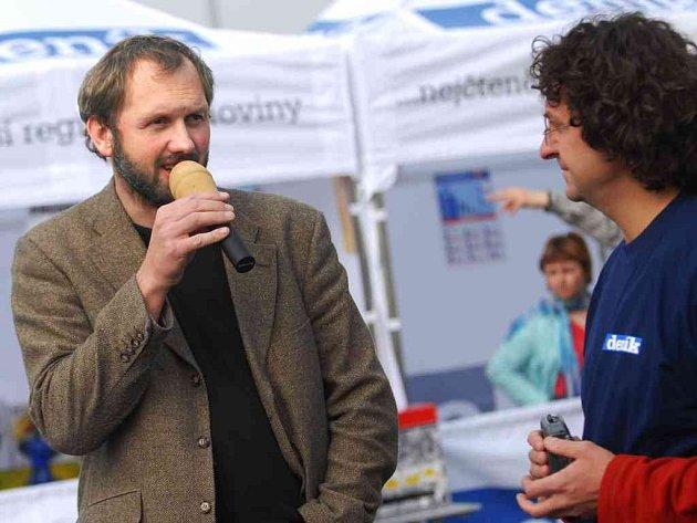 Na pardubický Den s Deníkem zavítal i architek Aleš Klose.