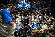 Basketbalové utkání reprezentace České republiky s celkem Bosny a Hercegoviny