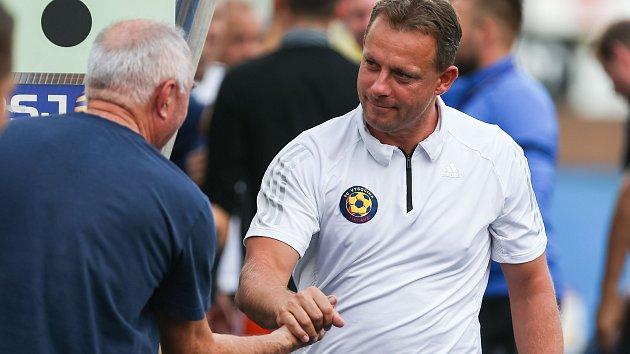 Fotbalový kouč Martin Svědík s Jihlavou zdolal klub, v němž prožil část své kariéry.