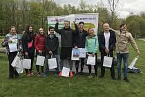 Štafeta Sportovního gymnázia A zvítězila v semifinálovém kole Juniorského maratonu.