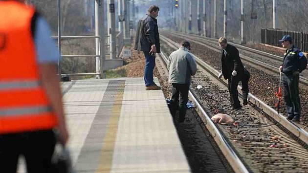 Italský rychlovlak Pendolino usmrtil u pardubické nemocnice 41letého muže.