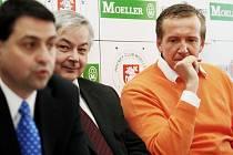 Zleva do prava: Zbyněk Kusý, Jaroslav Deml, Roman Šmidberský