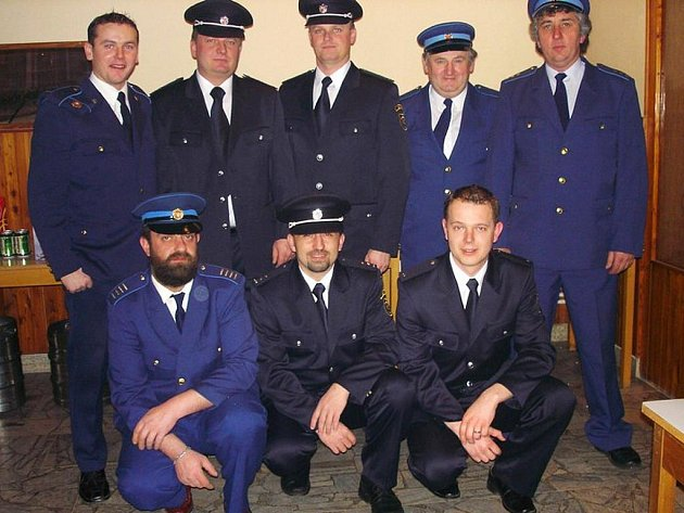 Dobrovoní hasiči z Býště