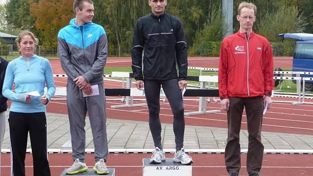 Milan Uchytil Hvězda SKP Pardubice) – vítěz půlmaratonu v Doetinchemu