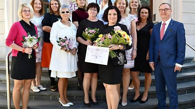 Finalistky krajského kola soutěže Žena regionu.