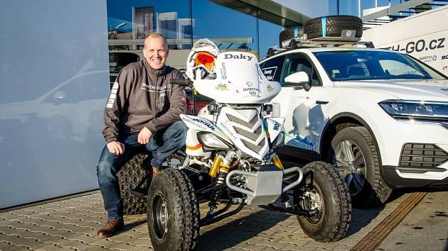 Zdeněk Tůma (Barth Racing) před Rallye Dakar 2020
