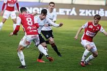 FK Pardubice - AC Sparta Praha (ilustrační foto).