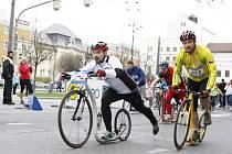 Na start půlmaratonu vyrazí letos také 121 koloběžců