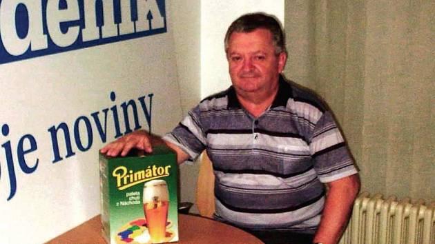 Další výherce piv Milan Jaroš.
