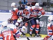 Hokejisté Pardubic podlehli v úvodním duelu extraligy Spartě, začali střílet pozdě.