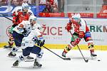 Zápas 1. kola hokejové extraligy Pardubice - Plzeň