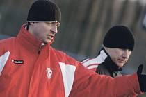 Po posledním přípravném zápase před startem ČFL Martin Svědík své svěřence pořádně sepsul. Z nepovedených pasáží ale nedělá vědu: 'Důležitý bude až vstup do soutěže, ne výsledky z přípravy.'