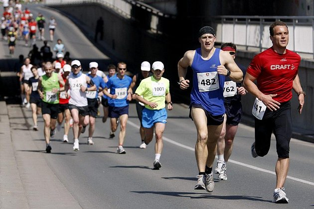 Na startu 4. ročníku Pardubického vinařského půlmaratonu bylo 1026 běžců. První příčky obsadili běžci z Keni.
