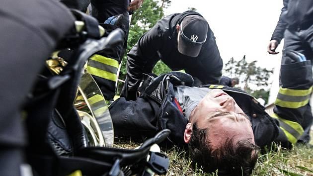 Krajské kolo TFA hasičů Pardubického a Královéhradeckého kraje 2015 v Hoděšovicích.