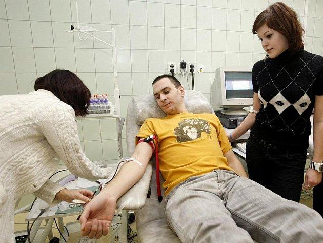 Valentýnské odběry krve