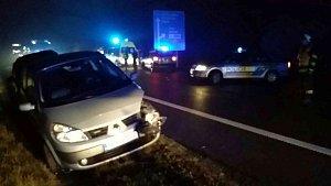 Dopravní nehoda u Medlešic