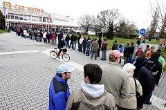 První minuty prodeje lístků na letošní finále před ČEZ Arenou