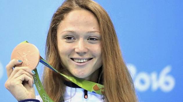 NEJVĚTŠÍ LÁKADLO. Velkou cenu města Pardubic v plavání okoření svou účastí běloruská hvězda Alexandra Herasimenia. Největšího úspěchu dosáhla na olympijských hrách 2016 v Riu.