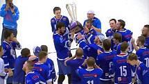 VÝROČÍ. Pardubičtí hokejbalisté získali před pěti lety historicky první titul v české extralize. Od té doby na další potěžkání mistrovské trofeje čekají. Nepřišel letos čas na repete?